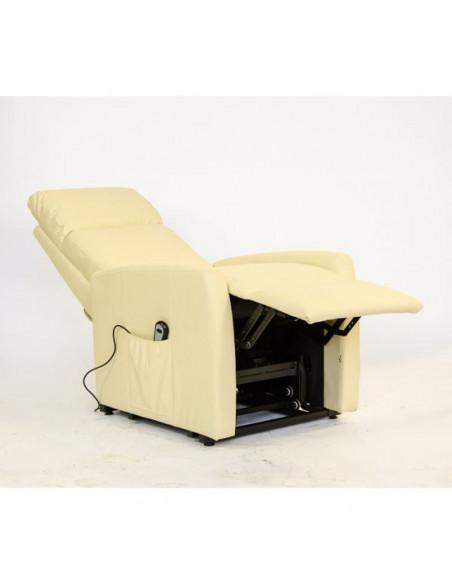 Adele Fauteuil relax électrique à 1 moteur avec releveur et inclinaison combinée