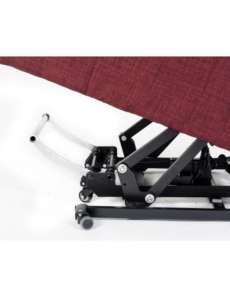 Fauteuil releveur Spécial 2 Moteurs, accoudoirs et appuis-tête amovibles et table